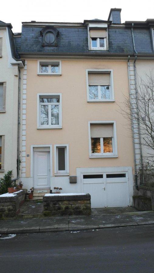 Maison jumel e 3 chambres vendre luxembourg bonnevoie for Bonnevoie piscine luxembourg
