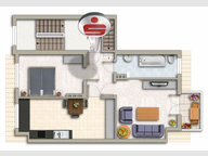 Wohnung zum Kauf 2 Zimmer in Merzig - Ref. 4349912