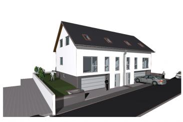 Im Bau befindlich- Gemeinde Mondorf-les-Bains, Ellange : Wir offerieren Ihnen ein energetisch interessantes Objekt, mit Blick ins Grüne, angrenzend an Felder und Wiesen, sehr ruhig in einer Seitenstrasse gelegen.  Das Haus besteht aus 4 Schlafzimmern , 2 Badezimmern mit Dusche, einer Küche , einem Wohnzimmer, sowie diversen Abstellräumen und einem Kellerraum. Selbstverständlich gehört eine Doppel-Garage zum Haus. Auf der zum Objekt gehörigen 30m2 Terrasse mit angrenzendem Garten lassen sich ruhige,sonnige  Stunden verbringen.  Der angegebene Preis beinhaltet eine schlüsselfertige Ausführung des Hauses, kann aber lt. Eigentümer zu dem der Baustufe angepassten Evaluierung erworben werden. Änderungswünsche können nach Absprache in Abhängigkeit der jeweiligen Bauphase noch berücksichtigt werden.