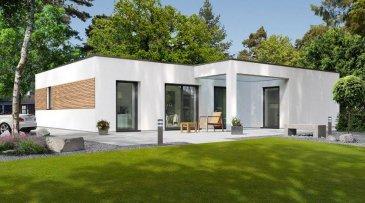 Energiespar-Haus Remich   Wohnfläche: 86m²  Hausgröße:  11,20m  x  10,58m    WICHTIG: Das abgebildete Haus ist ein Planungsbeispiel. Abweichungen können sich ergeben