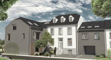 MONDORF - ELLANGE 565.434 Euros.  Nouvelle construction d'une maison typée au centre du charmant village d'Ellange entre la ville de Luxembourg et la moselle appartenant à la commune de Mondorf.  Cette maison haut de gamme d'une surface de +-142m2 est composée par exemple de:  Rdch: hall d'entrée, garage pour 2 voitures (+-38m2) et 1 emplacement de voiture extérieur, chaufferie, terrasse à l'arrière  1ier étage: living-salle à manger (+-45m2) avec cuisine ouverte, 1 bureau ou petite chambre (+-9m2), WC séparé  2ième étage: 2 belles chambres à coucher (+-13,5m2/+-15,5m2) et une salle de bains avec baignoire  La maison en construction massive haut de gamme est équipée entre autre d'un chauffage au gaz à condensation, triple vitrage PVC, Classe énergétique B...Assurance décennale  Matériaux haut de gamme et belles finitions par Entreprise Guy Thomas et Alfio Santini. Prix affichés TTC 3%.  A voir absolument, Plans adaptables sur demande du client sans suppléments.   ***HERBY IMMO = MEILLEURS PRIX DU MARCHE***   (Herby Immo vous garantit le prix d`achat le moins cher du marché)
