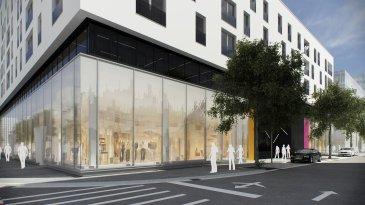 TRAVAUX REALISES A 50 % ! A visiter sur place !    Dans le quartier du Square Mile, nouvelle réalisation d'un immeuble  mixte appelé