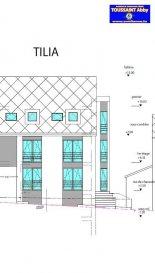 Projet de construction de 2 Résidences (OLEA et TILIA) à 3 unités.<br>Résidence TILIA - Appartement 1 (Rez-de-chaussée)<br>Hall d'entrée, living avec cuisine ouverte donnant sur une grande terrasse (63.39m2) avec jardin privatif (82m2), 3 chambres à coucher, salle de bains, WC séparé. Une cave est également comprise.<br>Parking intérieur: 20.000 €<br>Parking extérieur: 10.000 €<br>TVA 3% inclus sous réserve d'acceptation par l'Administration de l'Enregistrement<br />Ref agence :975661