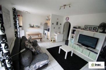 Très beau studio sis à Dudelange dans une rue calme   +/-35m2  Hall d'entrée - salon - cuisine ouverte - balcon - salle de douche - emplacement extérieur   Actuellement loué Ref agence :1212765