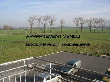 VENDU!!!!!     TRES BEL APPARTEMENT AVEC UNE SUPERBE VUE.  IL SE COMPOSE: 1 HALL D'ENTREE, 1 CHAMBRE DE 14 M2, 1 SDB AVEC BAIGNOIRE, 1 WC SEPARE, 1 LIVING/SALLE A MANGER AVEC UNE TRES BELLE ET GRANDE CUISINE EQUIPEE, 1 BALCON DONNANT SUR UNE VUE IMPRENABLE, 1 GRAND GARAGE AVEC CAVE DE 26.8 M2, 1 EMPLACEMENT EXTERIEUR  N'HESITEZ PAS A NOUS CONTACTER POUR UNE VISITE!!!