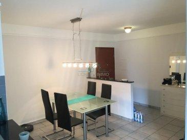 Bel appartement au 1étage de 55m2:<br><br>Hall d'entrée, cuisine équipée-living, salle de douche, 1 chambre.<br>1 cave.<br>Parking dans la rue.<br>Internet et chaines TV inclus dans les charges.<br>Libre 1 septembre 2016.<br>Pour plus de renseignements, vous pouvez me contacter au 661.217.707 Dimonte Franco<br />Ref agence :2605246