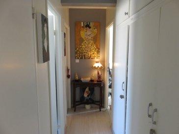 Appartement Thionville 3 pièce(s) 64,50 m2. Proche du centre ville et de la gare, dans immeuble avec ascenseur, F3 complètement rénové comprenant cuisine équipée, séjour accès balcon, 2 chambres, salle de bains et wc séparé.<br>Cave et chauffage individuel au gaz.<br><br>Renseignements et visites :<br>Karine Karas 06 08 31 19 87<br>Julie Lukas 06.85.83.77.60<br>