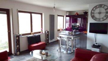 STADTBREDIMUS 290.000 Euros.  Bel appartement moderne au bord de la moselle avec vue imprenable d'une surface habitable de +-55m2.  L'appartement  au 1er étage dispose d'un living-salle à manger avec belle cuisine équipée ouverte et un accès au balcon avec vue moselle, une chambre à coucher séparée avec coin dressing et une salle de douche.  De plus l'appartement dispose d'un garage privatif, un emplacement extérieur et une cave privative.  Equipements: dalles en béton, double vitrage, carrelage au sol, appartement tout à fait rénové en 2014...  Absolument à voir pour sa vue imprenable, aucun travaux à prévoir!   ***HERBY IMMO = MEILLEURS PRIX DU MARCHE***   (Herby Immo vous garantit le prix d`achat le moins cher du marché)