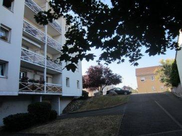 LINGOLSHEIM 8 RUE DE TOURAINE  F3 70M², RDC avec balcon 4M² et cave DPE E - Chauffage électrique Pas de frais d'agence DOMIAL 0388211893 ou 0623224841