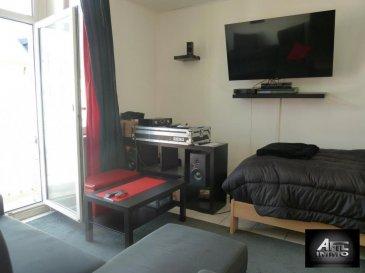 ABSOLUMENT A SAISIR :<br><br>Centre ville d'Esch/Alzette :<br>Appartement d'une surface de 49,80 m² composé comme suit :<br><br>- Cuisine équipée individuelle<br>- Salle de douche<br>- Living/Salle à manger avec sortie sur balcon<br>- 1 chambre à coucher<br>- Débarras<br>- Cave <br>- Buanderie commune<br><br>Pour tout renseignement complémentaire, veuillez contacter Madame Carmen SOUSA au 54 02 44.<br><br />Ref agence :2243197