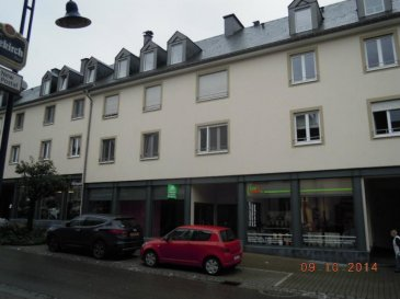 A louer commerce sur 2 niveaux, rdch et sous-sol avec entrée indépendante pour chaque niveau.  5 places de parking.  Possibilité de louer séparément le rdch (160,64m²) ou le sous-sol (166,16m²).