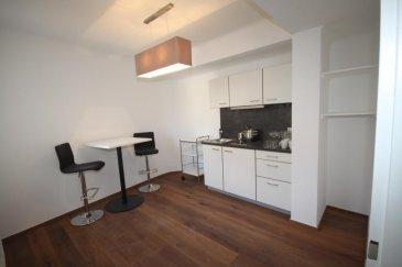 Luxembourg Centre Ville ** Rue de Capucins **<br>Superbe appartement <br>- Hall d'entrée, beau living avec parquet au sol et une chambre à coucher<br>- cuisine équipée avec salle à manger<br>- salle de bains avec baignoire<br>- cave<br>*Très belle vue*<br>dispo 01.11.2016-<br />Ref agence :916590