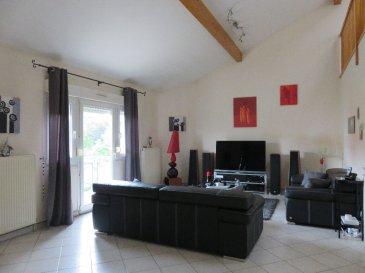 Appartement Thionville 5 pièce(s) 165 m2. Proche du quartier Val Marie, spacieux duplex de 165 M2 comprenant une cuisine équipée, un séjour, 3 chambres et un bureau.<br>Garage. Grenier.<br>