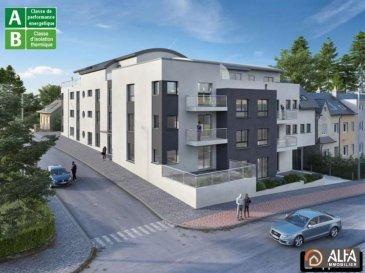 Bel appartement 12 dans une nouvelle résidence en future construction \'\'Rivoli\'\' située à Pétange à l\'angle de la rue d\'Athus et de la rue des Promenades proche des réseaux autoroutiers et de la verdure, accès direct vers des chemins de promenade. Offrant une situation calme et idéale à tous ses occupants. <br>Il se compose: <br><br>- hall d\'entrée<br>- cuisine ouverte sur le salon/ salle à manger avec accès sur un balcon de 5.25 m2<br>- 2 chambres à coucher <br>- salle de douche <br>- WC sépare<br>- cave<br><br>Possibilité d\'acquérir des emplacements intérieurs à partir de 26 000€ TVA 3%. <br />Ref agence :3535714