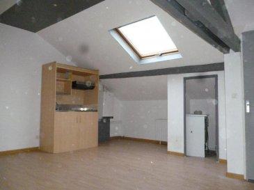 ---------  TEL  06.21.75.88.18----------<br>HOMECOURT :<br>appartement type F2 de 70 m² comprenant cuisine équipée ouverte sur séjour, chambre, salle de bains  DPE E<br>LOYER  315 E + CH 15 E   DG 315 € <br />Ref agence :2284131