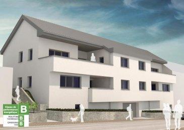 Votre agence immobilière Immeck vous propose en exclusivité :<br><br>Un projet immobilier de haut standing sur la commune de Hesperange.<br><br>Il s'agit d'un ensemble immobilier composé de 4 appartements à 2- 3 chambres, desservis par 2 entrées et de 2 cages d'escaliers, à ceci se rajoute également 6 parkings et 4 caves privatives.<br><br>L'appartement LOT 011 (90.28 m2) comprend un grand living avec terrasse (11.20 m2), 2 grandes chambres, 1 salle de douche, une cuisine,  un wc séparé, une cave LOT 002 et un emplacement voiture LOT 003.<br><br>Classe énergétique: BBB<br>Les prix indiqués comprennent la TVA à 3% (sous réserve d'acceptation par l'Administration de l'Enregistrement et des Domaines).<br>Plans et cahier des charges disponibles sur demande.<br><br>De nombreuses possibilités de personnalisation sont possibles pour le choix des finitions privatives.<br><br>Pour plus d'informations ou de documentation n'hésitez pas à nous contacter:<br><br>Tél: 26 36 04 47<br>info@immeck.lu<br>www.immeck.lu<br />Ref agence :1777775