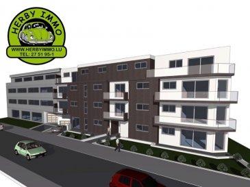 KAYL-TETANGE, 330.562 Euros.  NOUVELLE CONSTRUCTION  Appartement (+-72,66m2) au 1er étage avec balcon(+-9m2) et ascenseur. Fin Construction Début 2017. Situation calme. Près de toutes commodités et accessibilité.  Sous-sol: cave, Buanderie commune.  1ier étage : Hall d' entrée, Living-salle à manger avec accès balcon (+-9m2), cuisine non-équipée ouverte, 2 chambres à coucher, salle de douche.  Equipements: Dalles en Béton, Triple vitrage PVC avec volets électriques, Toit (isolé / plat en Béton), Façade (isolée), Chauffage Pompe à chaleur au sol, Antenne collectif.  Emplacement intérieur au prix de 25.000€  Possibilité d'ajuster la division de l'appartement intérieur selon votre choix.  Plans disponibles sur demande en nos bureaux.  ***HERBY IMMO = MEILLEURS PRIX DU MARCHE***   (Herby Immo vous garantit le prix d`achat le moins cher du marché)