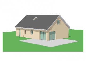 PAVILLON NEUF LABEL RT2012  Pavillon neuf Prêt à décorer  de 99m² + garage de 18m² comprenant entrée, wc, cuisine ouverte sur séjour de de 39,72m², 1 chambre, 1 salle d'eau douche italienne, wc.   A l'étage 2 chambres    CC PAC Air/Eau eau au sol