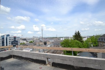 Situé au dernier étage d'une résidence en construction, ce penthouse, orienté Nord-Sud, offre une vue dégagée sur la ville de Luxembourg. L'ascenseur s'ouvre directement sur le hall d'entrée ± 19 m2 incluant un wc ± 3m2. L'appartement se compose en outre d'une cuisine non-équipée ± 20 m2, d'un débarras/arrière-cuisine ± 4 m2, d'un séjour ± 30 m2.  Le palier de nuit ± 6 m2, séparé de la partie jour par une porte, dessert 3 chambres à coucher ± 11, 12 et 13 m2 dont la chambre parentale ; celle-ci dispose d'une salle de douche en suite ± 5 m2 avec évier et wc. Les deux autres chambres disposent, quant à elles, d'une salle de douche commune ± 6 m2 avec évier et wc.  Le penthouse est entièrement entouré d'une terrasse ± 119 m2 avec débarras ± 4m2 pour le stockage du mobilier extérieur.  Remarques générales :   -Situation privilégiée, au calme ; accès aisé à pieds vers la Gare et autres transports en commun. -Emplacement de parking en sous-sol non inclus dans le prix de vente. -La cuisine peut être installée (voir avec le promoteur) -Classe énergétique « B-B ».