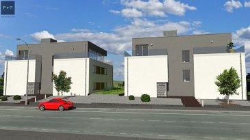 NOUVEAU A HELLANGE. Prochainement, réalisation d'un complexe de 2 immeubles résidentiels situé à l'extrême Sud de Luxembourg, commune de Frisange.  Les immeubles projetés seront dotés d'une architecture moderne, chaque appartement disposera d'une terrasse orientée plein Sud et d'un jardin privé de +/- 4 ares.  Je m'appelle
