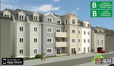 Bel appartement (3.24) situé au dernier étage de la résidence Bellevue, sise au coeur du village de la Rodange .Proches des crèches , des transports en communs et de toute commodités offrant une vue sur la nature, et à proximité de la forêt déployant de belles couleurs tout au long des 4 saisons.<br>d\'une superficie de vente de 90,23 m2 (se détaillant comme suit : une surface habitable de 88,50 m2, une terrasse de 3,46 m2 ) comprenant un hall d\'entrée, un living avec cuisine ouverte sur le living, accès sur le balcon, 3 chambres à coucher , une salle de bains , un WC séparé, une cave.<br>Possibilité d\'acquérir un emplacement intérieur à partir de 25.000.-€<br />Ref agence :3535653
