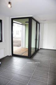 ***** loué *******     ******* CAMPUS BELVAL Appartement neuf de ± 64 m2, aux finitions luxueuses, très lumineux et situé au RDC d'une résidence, rue WASSERTRAP à Esch-Belval, Classe énergétique AAA .  L'appartement se compose : - d'une grande pièce à vivre (± 39m2) avec une cuisine équipée ouverte sur le living accès vers la loggia (±3,5 m2) et la terrasse (6 m2), - un salle de bains avec double lavabo, douche et WC. - une grande chambre de ± 18m2  Tout l'appartement est équipé : de luminaires, de stores électriques et d'un vidéo-parlophone,  Un emplacement intérieur, une grande cave et une buanderie commune complètent ce bien. Caution: 2 mois Charges : 150€ Disponible Animaux non admis.   Apartment of ± 64 m2, with luxurious finishes, very bright, located on the ground floor of a new residence, rue WASSERTRAP Esch-Belval , Energy Class AAA The apartment includes : - A large living room ( ± 39m2 ) with a open kitchen to the living room with access to the loggia ( ± 3.5 m2) and terrace (6 m2 ) - A bathroom with double sink, shower and toilet. - A large room of ±18m2. The whole apartment is equipped with : lighting , electric blinds and video - intercom, A car park , a large cellar and a common laundry room complete this apartment Deposit : 2 months Charges : 150 € Available No pets allowed.   Pour tous renseignements ou pour prendre rendez-vous pour une visite, veuillez nous contacter par téléphone au (+352) 621 43 10 04 – (+352) 26 19 00 86 ou par mail : info@icasa.lu  Découvrez tous nos biens sur www.icasa.lu. Souhaitez-vous louer ou vendre votre bien, profitez de notre service de qualité. Estimation rapide et gratuite.  Agence iCasa – Bertrange BELACCHI Michel