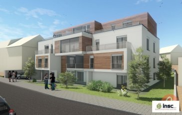 Nouvelle construction   PRIX TTC 3% Résidence Lucie an Hary sise à Lamadelaine   Appartement 1 étage  de 49.9 m2   hall d'entrée - cuisine ouverte - living - 1 chambre à coucher - salle de douche - terrasse 5.6 m2 - cave   Possibilité d'acheter un emplacement pour le prix de 30.000.-€    Ref agence :1212730
