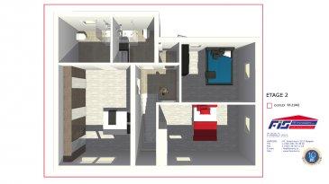FIS IMMO vous présente une toute nouvelle Maison bi-familiale de haut standing en futur construction à Bertrange.  Un appartement de 64m2 + un duplex de +/-93,21m2, Idéalement située, à seulement 5km du Centre ville de Luxembourg, la construction sera en classe « BB » avec des panneaux solaires, des fenêtres triples vitrage, chauffage au sol et une ventilation mécanique.   Les prix affichés sont à 3% de TVA incluse.Garantie d'achèvement / Assurance biennale et décennale   Pour tout renseignement veuillez nous contacter au 621278925