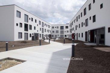 ***** PREMIÈRE OCCUPATION ! ******* ***** FIRST OCCUPATION ! ******* CAMPUS BELVAL Appartement neuf de ± 64 m2, aux finitions luxueuses, très lumineux et situé au RDC d'une résidence, rue WASSERTRAP à Esch-Belval, Classe énergétique AAA .  L'appartement se compose : - d'une grande pièce à vivre (± 39m2) avec une cuisine équipée ouverte sur le living accès vers la loggia (±3,5 m2) et la terrasse (6 m2), - un salle de bains avec double lavabo, douche et WC. - une grande chambre de ± 18m2  Tout l'appartement est équipé : de luminaires, de stores électriques et d'un vidéo-parlophone,  Un emplacement intérieur, une grande cave et une buanderie commune complètent ce bien. Caution: 2 mois Charges : 150€ Disponible  Animaux non admis.   Apartment of ± 64 m2, with luxurious finishes, very bright, located on the ground floor of a new residence, rue WASSERTRAP Esch-Belval , Energy Class AAA The apartment includes : - A large living room ( ± 39m2 ) with a open kitchen to the living room with access to the loggia ( ± 3.5 m2) and terrace (6 m2 ) - A bathroom with double sink, shower and toilet. - A large room of ±18m2. The whole apartment is equipped with : lighting , electric blinds and video - intercom, A car park , a large cellar and a common laundry room complete this apartment Deposit : 2 months Charges : 150 € Available  No pets allowed.   Pour tous renseignements veuillez nous contacter par téléphone au (+352) 621 43 10 04 – (+352) 26 19 00 86 ou par mail : info@icasa.lu  iCasa Bertrange Belacchi Michel