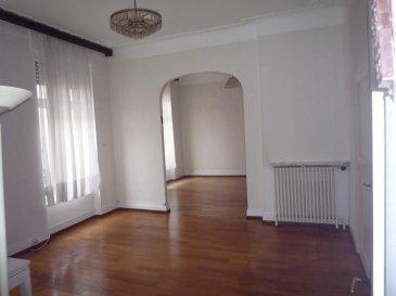 ---------------------------- 06 89 42 65 79 ------------------------------<br>quartier impérial, à 5 minutes de la gare, un appartement<br>de 110 m² avec 2/3 chambres, séjour, entrée, cuisine ouv.<br>sur balcon, dressing, wc ind et sdb.<br>prévoir rafraichissement<br />Ref agence :2284106