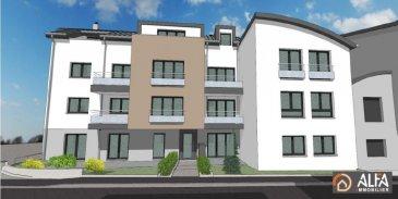 ALFA IMMOBILIER vous présente la nouvelle résidence JEAN qui est située au cœur de Pétange. L\'appartement 04 a une superficie de 68.69 m2 de vente. Il est situé au rez-de-chaussée et se compose : <br><br>- Hall d\'accueil avec espace pour armoire encastrée<br>- Cuisine ouverte sur salon/ salle à manger donnant accès sur une terrasse de 7.18 m2<br>- Hall de nuit<br>- 2 Chambres à coucher <br>- Salle de douche<br>- WC séparé<br>- Cave<br>- Buanderie commune.<br><br>Possibilité d\'acquérir un emplacement intérieur pour 26\'000€ ou un Parklift pour le prix de 25\'000€.<br><br>Pour plus d\'informations n\'hésitez pas à nous contacter ou 691 65 65 88 ou 691 112 115.<br />Ref agence :3535774