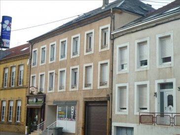 Proche du Luxembourg, bel immeuble de rapport comprenant : 2 locaux commerciaux, 3 appartements type 2 pièces, 1 appartement type 3 pièces, garage et cave. Possibilité de creér un appartement F1.   Loyer annuel : 34 000 €
