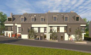 Future construction d'une Résidence à Colpach-Haut.  La résidence se compose de 11 unités, elle offre des appartements et duplex allant de 1 à 4 chambres à coucher.  Elle propose un rez de jardin, 1er et 2ème étage. Plusieurs appartements bénéficient de grandes terrasses. Tous les étages sont desservis par un ascenseur.   Appartement 03 situé au rez-de-chaussée, surface utile de 73,67m² :  - hall d'entrée - salle de bain - wc séparé - 2 chambres à coucher - séjour / salle à manger avec coin cuisine et sortie sur terrasse de 31,44m².  Emplacement intérieur au prix de 19796€  Emplacement extérieur au prix de 10501€ Cave au prix de 1545€ / m² Tva 3%