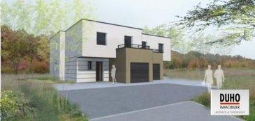 Bousse : maison neuve jumelée de construction contemporaine.<br>120 m² de 2016.<br>Entrée, dégagement, wc, salon - séjour cuisine avec accès terrasse - grandes baies vitrées,<br>A l\'étage : quatre chambres dont une suite parentale avec salle de bains, et balcon, salle de bains.<br>Domotique - prestations de qualité.<br>Garage - terrasse et jardin.<br>3,34 % d\'honoraires incus à la charge de l\'acquéreur.<br><br />Ref agence :1935