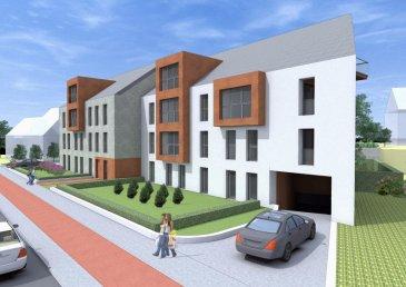 Un appartement à vendre, au 1er étage, LOT Nr: 018, surfaces utiles : 124,59 m2, 3 chambres à coucher, salon et salle à manger, cuisine, une salle de bains, SDD, débarras, hall d'entrée, balcons-loggias de: 2* 6,66 m2.<br>Date de livraison : 2ième trimestre 2018  Prix indiqué HTVA  Pour le cahier de charges, plans et réservations, veuillez contacter l'Agence IMMOMOD SA au tèl.: 27990953 ou GSM 691 925 485 ou GSM 621 839 320 ou par e-mail: info@immomod.lu