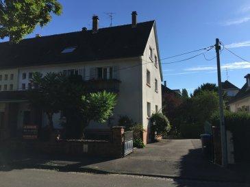 STRASBOURG Meinau, dans secteur verdoyant, au calme avec jardin et face à une placette arborée, Immeuble de 3 logements en partie loués d'une surface totale carrez de 264,92 m² sur 5,96 ares. Idéal pour opération patrimoniale de défiscalisation, investisseur et/ou particulier. Ce bien est composé au rez de chaussée surélevé, d'un appartement 4 pièces de 96,98 m² (loué 590 €/mois), au 1er étage d'un appartement 4 pièces de 97,89 m² (loué 485 €/mois) et sous les combles aménagés, d'un appartement 3 pièces + 1 de 70,14 m² (libre). Au sous-sol, 2 garages, caves et buanderie. DETAILS TECHNIQUES : Construction de 1958/59, chaudières individuelles au gaz, double vitrage (en partie), Taxe foncière 2015 : 3 246 €. Défiscalisation possible sur travaux.