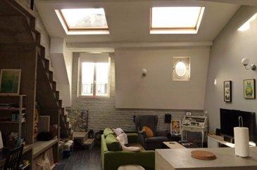 Appartement 4 pièces ROUBAIX. Avenue Jean Baptiste Lebas, magnifique appartement de 4 pièces d\'une surface de 97.12 m² environ (71.91 m² loi Boutin) situé au deuxième  et dernier étage.<br>Grand séjour avec poutres apparentes, wc, cuisine équipée, avec du parquet.<br>En mezzanine, deux chambres dont une avec salle de bains.<br>Vous bénéficiez d\'une jouissance privative d\'une terrasse de 21 m².<br>Disponible à compter du 02 janvier 2017! <br>Loyer : 785 euros <br>Charges : 35 euros <br>Dépôt de garantie : 785 euros<br>Honoraires : 503.37 euros <br>Etat des lieux : 107.86 euros <br>