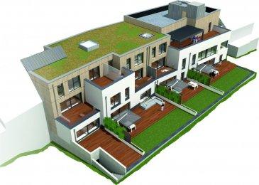 Penthouse 12 de 166,45 m2 au 3e étage  hall séjour: 66 m2 débarras chambre 1: 19 m2 salle de bains 1 chambre 2: 17 m2 salle de bains 2 chambre 3: 12 m2 WC séparé  terrasse: 22 m2  cave: 16 m2 parking intérieur  Prix: 640.230 € 3% TVAC (sous condition de l'acceptation du dossier par l'Enregistrement)    RÉSIDENCE 'AN DER GEITZT' rue des Sports, Wiltz  12 Appartements de 63 à 184 m2  Chaque unité disposera d'une terrasse, cave privative et 1 emplacement intérieur (INCLUS DANS LES PRIX INDIQUES). Prix affichés: 3% TVAC (sous condition de l'acceptation du dossier par l'Enregistrement)  Classe énergétique: A-B-A (pompe à chaleur, chauffage au sol, triple vitrage, ...)  Qualité élevée, fonctionnalité architecturale et solutions écologiques sont au cœur de la réalisation de cette résidence, tant au niveau du choix des matériaux que de la finition.  La Résidence AN DER GEITZT se situe à 5 minutes à pied de la gare, de 2 supermarchés et de l'école fondamentale. La ville de Wiltz se trouve à 5 minutes en voiture du centre commercial Pommerloch et de la frontière belge. Ref agence :5812