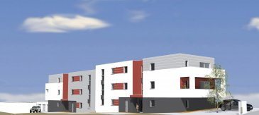 ROMBAS : dans nouvelle résidence F2 comprenant une cuisine ouverte sur séjour, une chambre, salle de bains, terrasse, jardin. (garage + 10 000 €)