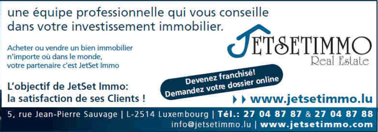 JETSET IMMO AGENCE IMMOBILIERE - Luxembourg-Merl