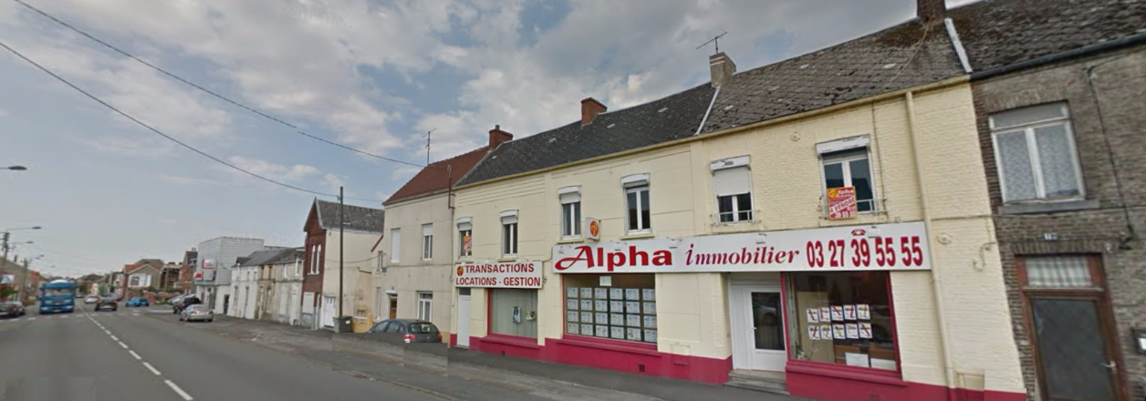 Alpha immobilier agence immobili re maubeuge sur for Agence immobiliere 86
