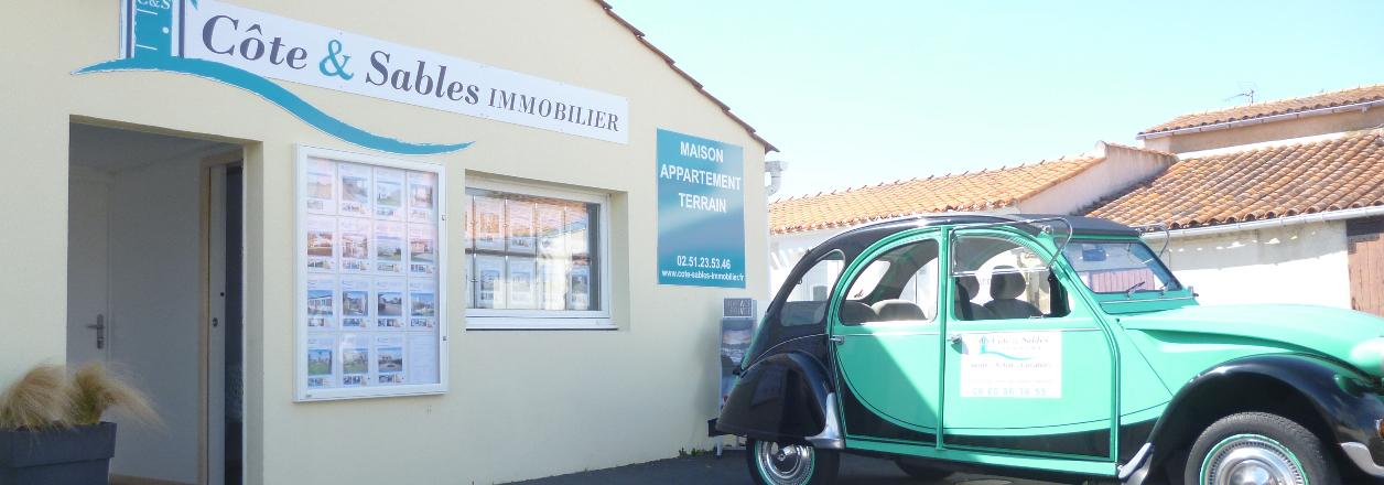 Côte & Sables Immobilier - Château-d'Olonne