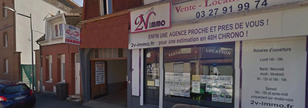 2V IMMO - Auberchicourt