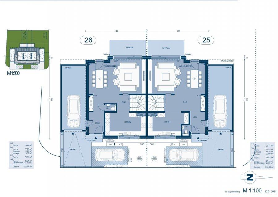 acheter maison jumelée 5 chambres 214.71 m² capellen photo 5