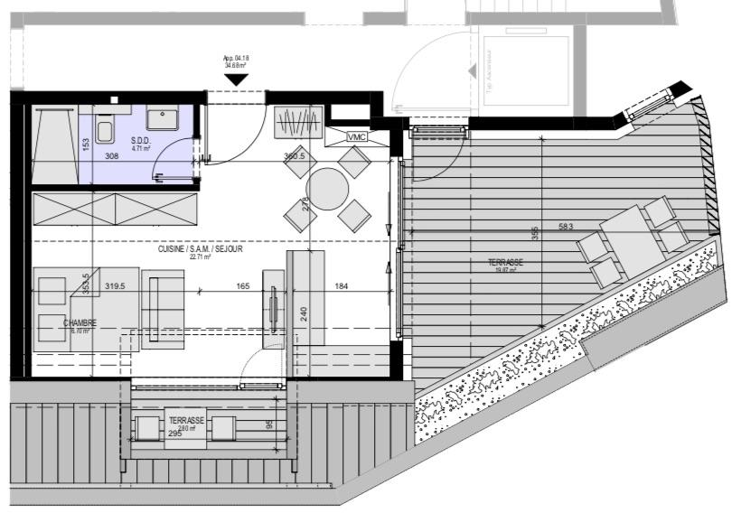 acheter studio 0 chambre 45.9 m² luxembourg photo 3
