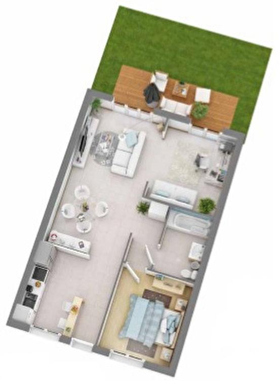 acheter immeuble de rapport 0 pièce 0 m² courcelles-sur-nied photo 5
