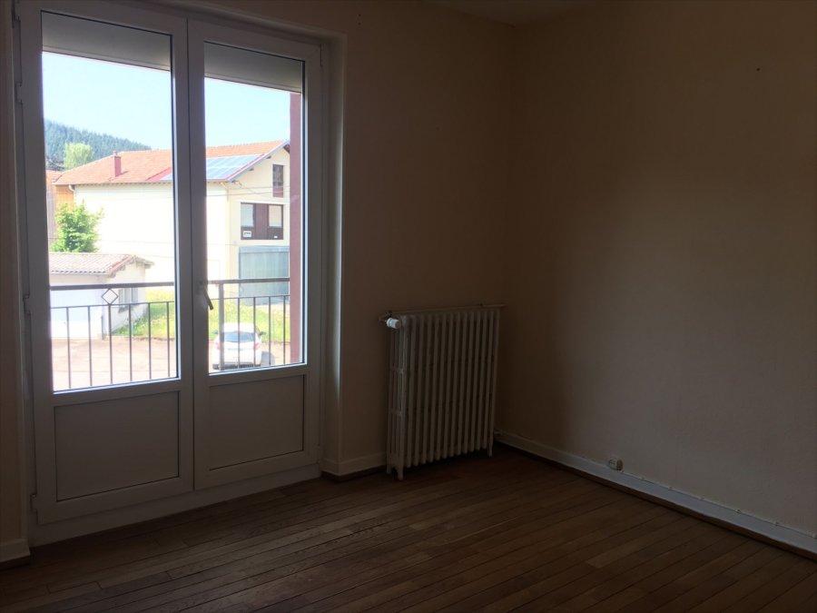 Appartement à louer F3 à Gerardmer