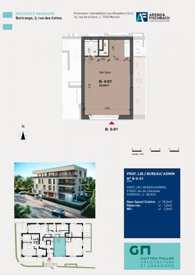 office for buy 0 bedroom 38 m² bertrange photo 2