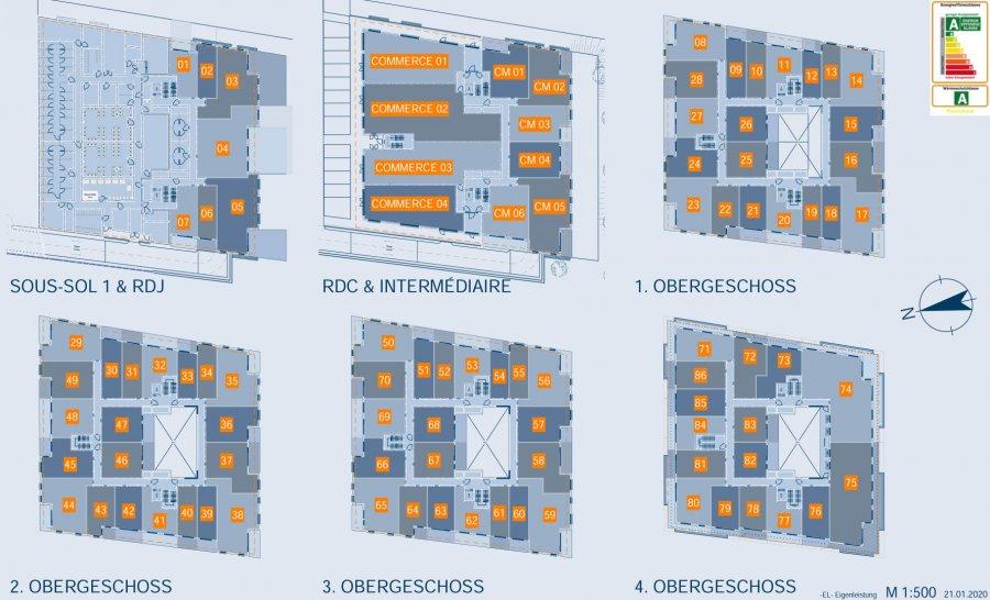 acheter loft 0 chambre 57.73 m² luxembourg photo 6