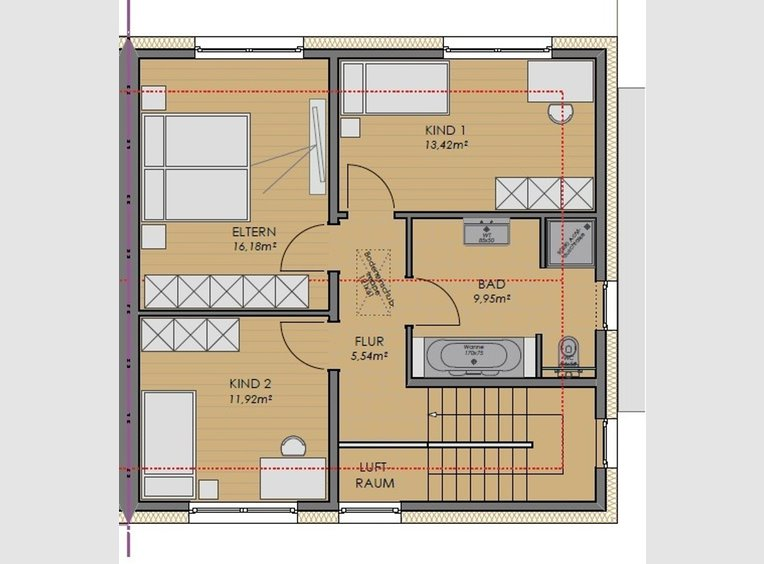 Semi-detached house for sale 4 rooms in Völklingen (DE) - Ref. 7225360